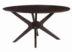 Coaster 122520 Oval Dining Table