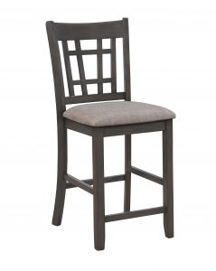 Crown Mark 2795GY-S-24 Hartwell Counter Hight Chair