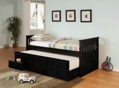 Coaster 300104 Twin Daybed With Trundle