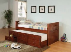 Coaster 300105 Twin Daybed With Trundle