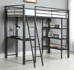Coaster 400961T Twin Workstation Loft Bed
