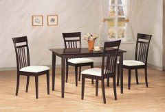 Coaster 4430 5 Pc Dining Set