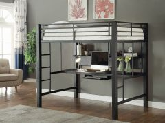 Coaster 460023 Avalon Full Workstation Loft Bed