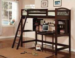 Coaster 460063 Perris Twin Workstation Loft Bed