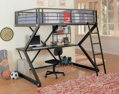 Coaster 460092 Parkview Full Workstation Loft Bed