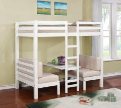 Coaster 460370 Twin/Twin Convertible Loft Bed