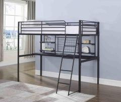 Coaster 460473T Twin Workstation Loft Bunk Bed