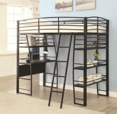 Coaster 461082 Twin Workstation Loft Bed