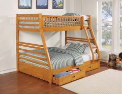 Coaster 461183 Twin/Full Bunk Bed