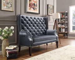 Crown Mark 4943-GY Odina Loveseat Chair