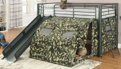Coaster 7470 Camouflage Tent Loft Bed
