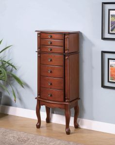 Coaster 900125 Transitional Jewelry Armoire