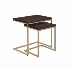 Coaster 930116 2Pcs Nesting Table