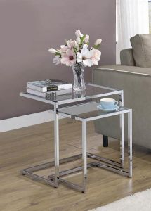 Coaster 930117 2Pcs Nesting Table