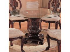 Coaster CB48RD-6 Round Glass Top