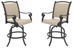 Ashley Furniture P317-130 Bass Lake Sling Barstool (2/CN)