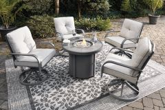 Ashley Furniture P325-776 Donnalee Bay Round Fire Pit Table
