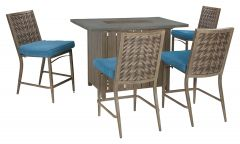 Ashley Furniture P556-665 Partanna Bar Table