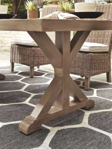 Ashley Furniture P791-625 Beachcroft RECT Dining Table w/UMB