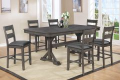 Crown Mark Z-2632S-24 Sable Counter HigHeight Chair